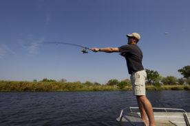 Fishing in Botswana