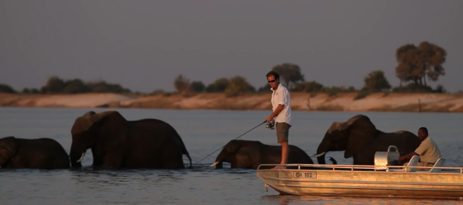 Fishing in Botswana